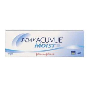 Opakowanie soczewek kontaktowych Acuvue 1-Day Moist.