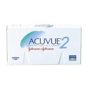 Opakowanie dwyutygodniowych soczewek kontaktowych Acuvue 2