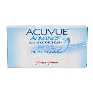 Opakowanie soczewek Acuvue Advance