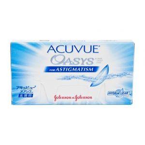 Opakowanie dwutygodniowych soczewek kontaktowych Acuvue Oasys for Astigmatism