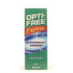 Opti Free Express płyn do pielęgnacji soczewek kontaktowych firmy Alcon