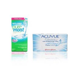 Zestaw Acuvue Oasys 6szt. + Puremoist 90 ml.