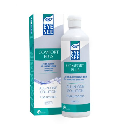 Eye See All in One solution Comfort Plus with Hyaluronate
