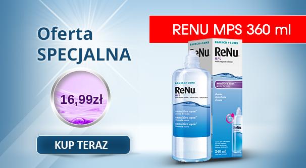Płyn do pielęgnacji soczewek ReNu MPS 360 ml
