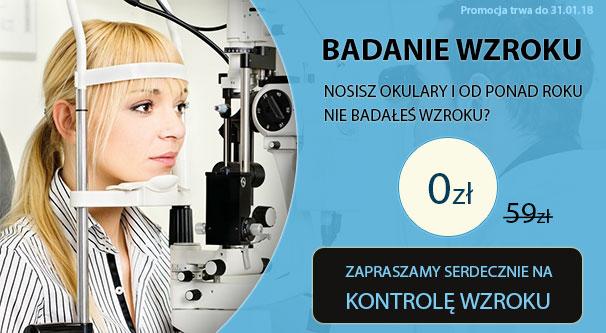Bezpłatne badanie wzrok