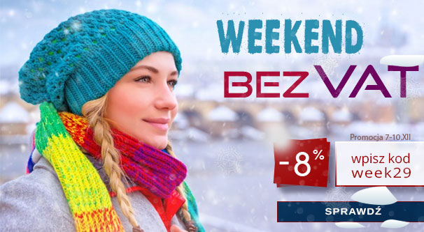 Weekend Bez VAT w 2soczewki.pl