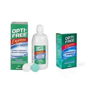 Zestaw Opti-free Express 355 ml + 120 ml