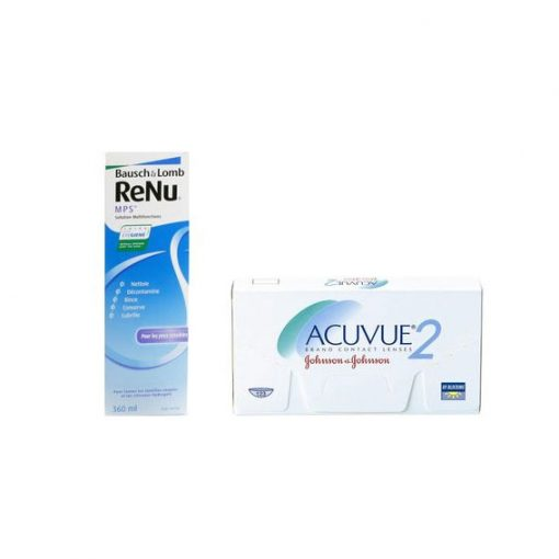 Zestaw ReNu MPS 360 ml + Acuvue 2 6 szt.