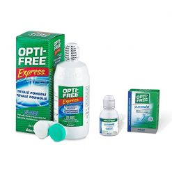 Zestaw Opti-free Express 355 ml + Pure Moist 60 ml