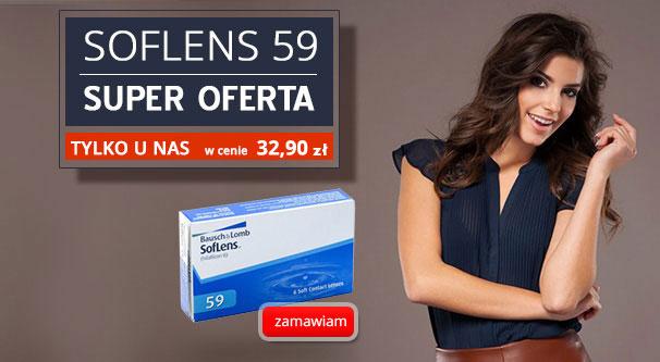 Soczewki kontaktowe SofLens 59 6 szt.