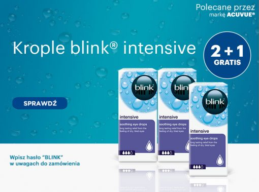Krople blink® intensive GRATIS