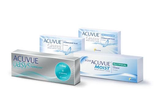 ACUVUE - Soczewki kontaktowe
