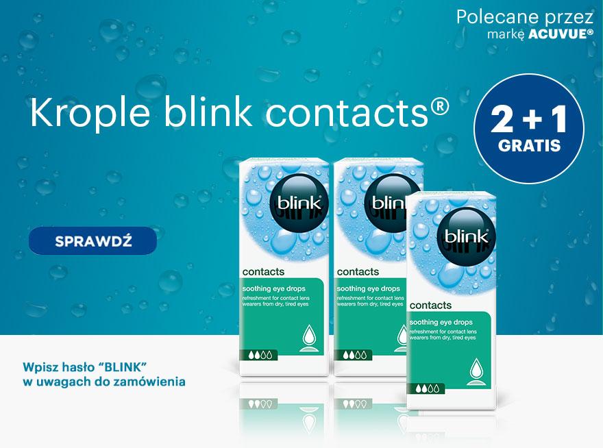 2 x blink contacts® 1 gratis