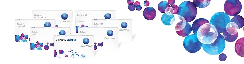 Rodzina Biofinity > Soczewki kontaktowe